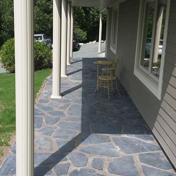 Photo Résidentiel – Terrasse, dalles et trottoirs