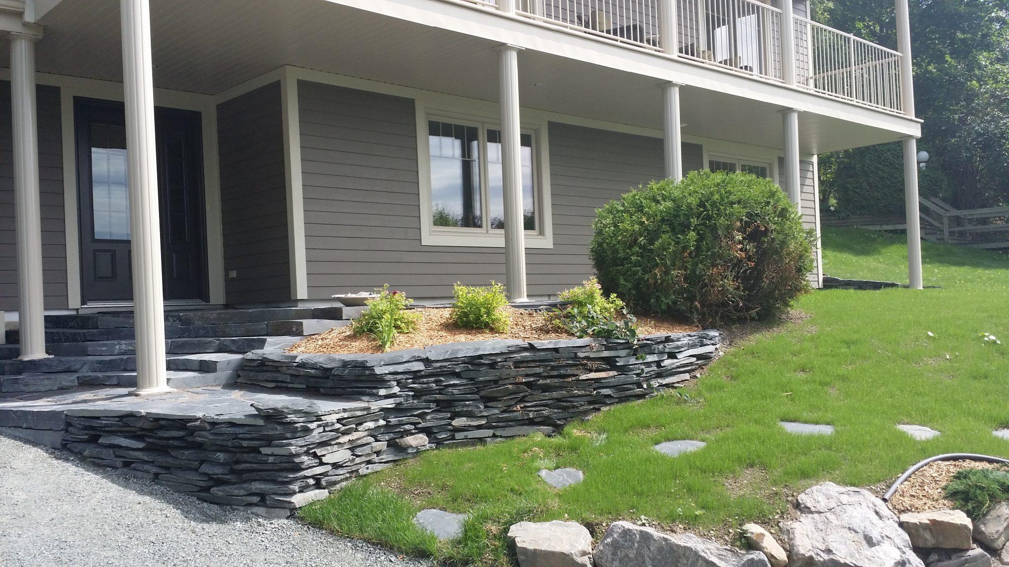 Résidentiel – Terrasse, dalles et trottoirs
